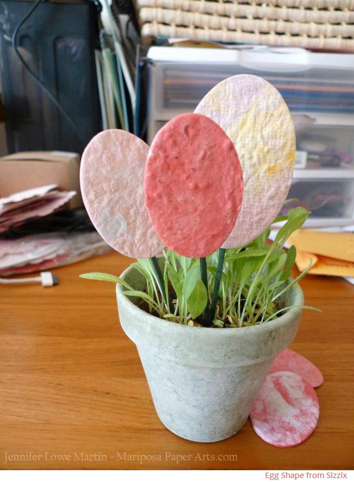 Plantable Easter Egg Favors