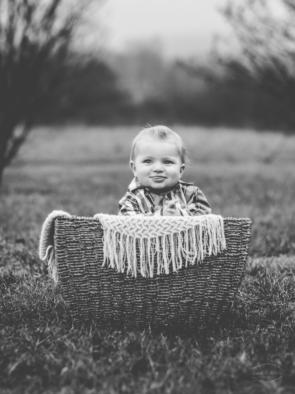 It was a little chilly, but he was perfectly happy hanging out in that basket.