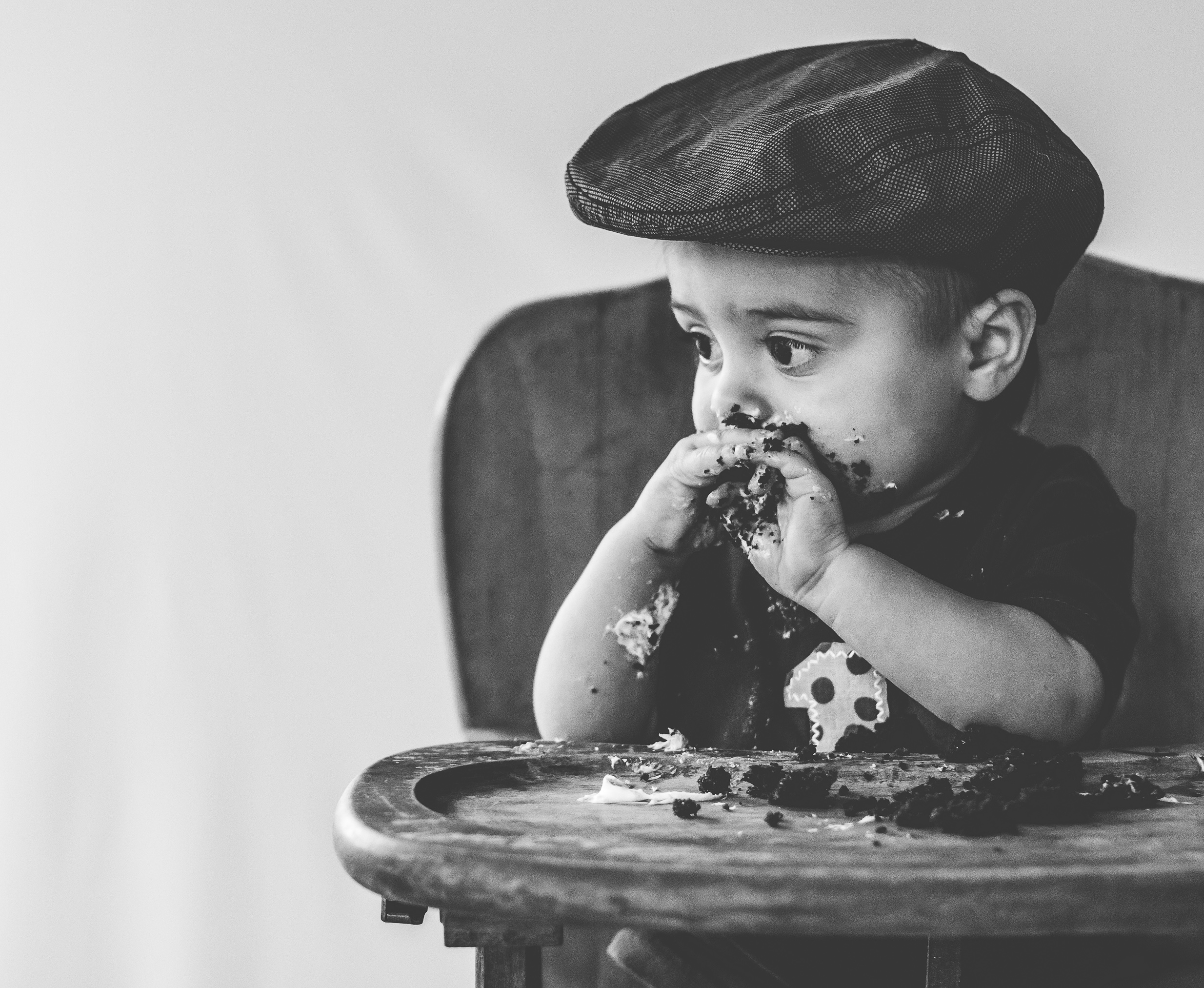Contemplating exactly what it means to be old enough to enjoy desserts.