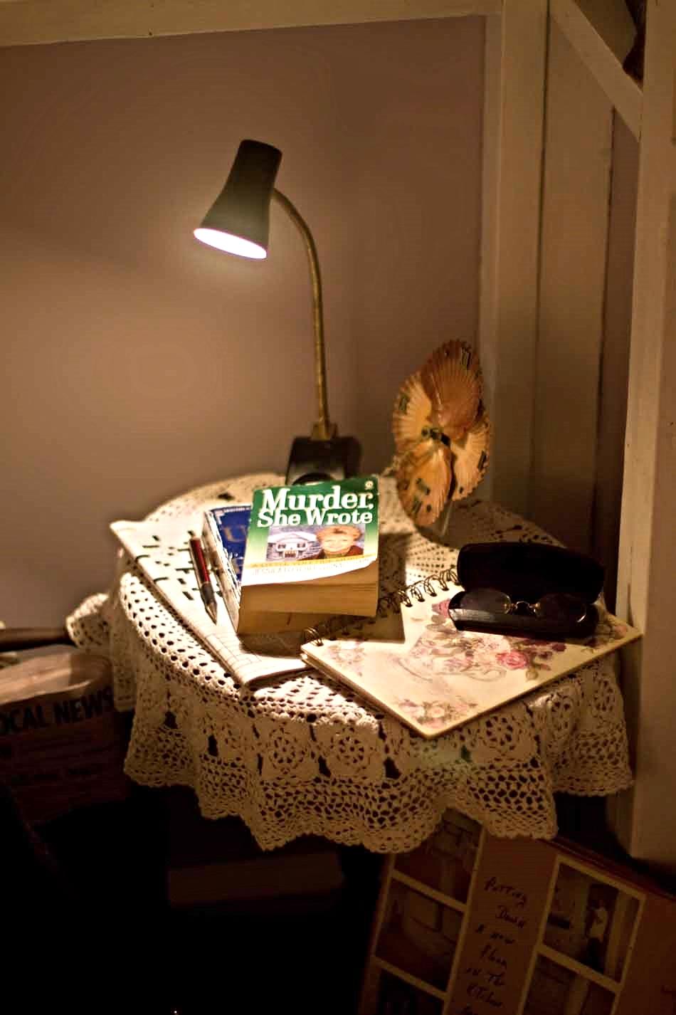 Kiosk: Rent-a-Grandma, 2012, interior, installation at the Philadelphia Art Alliance, collaboration with Amy Linsenmayer