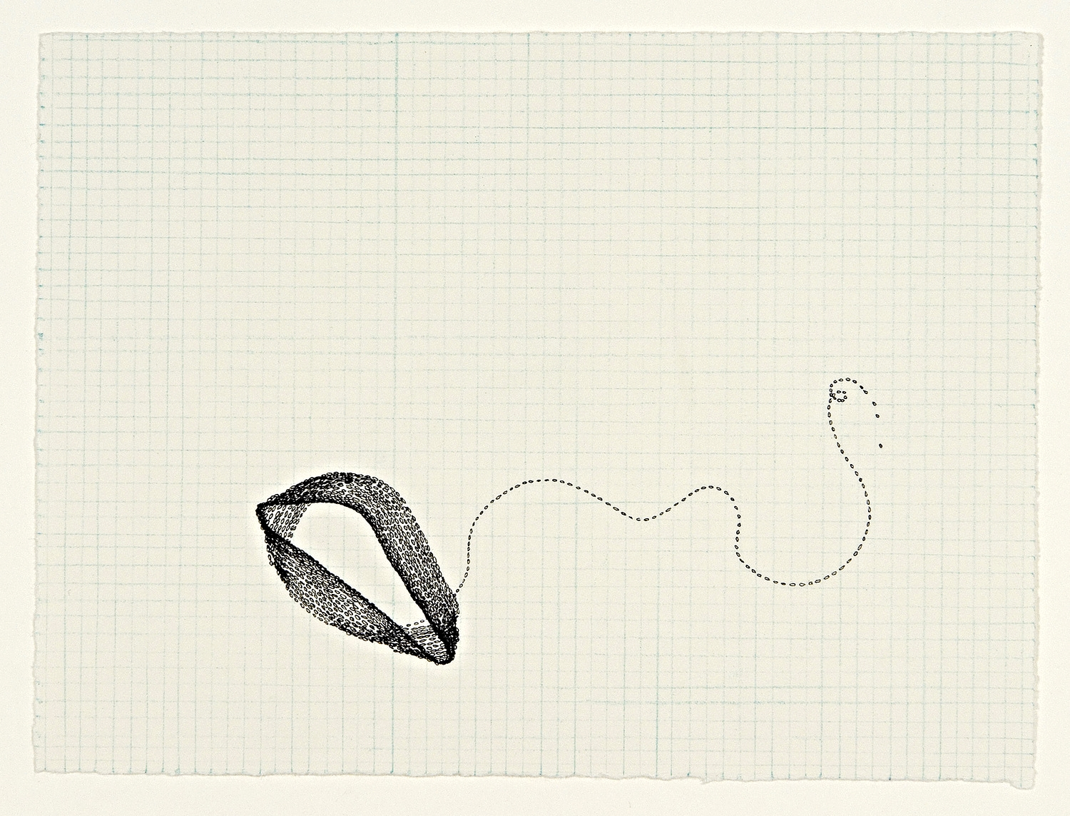 Holon # 9, 2007, ink and colored pencil on paper, 5 x 7 inches