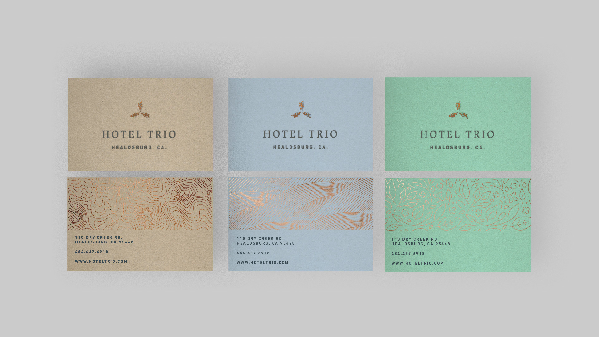Hotel Trio [hospitality] {coming soon}