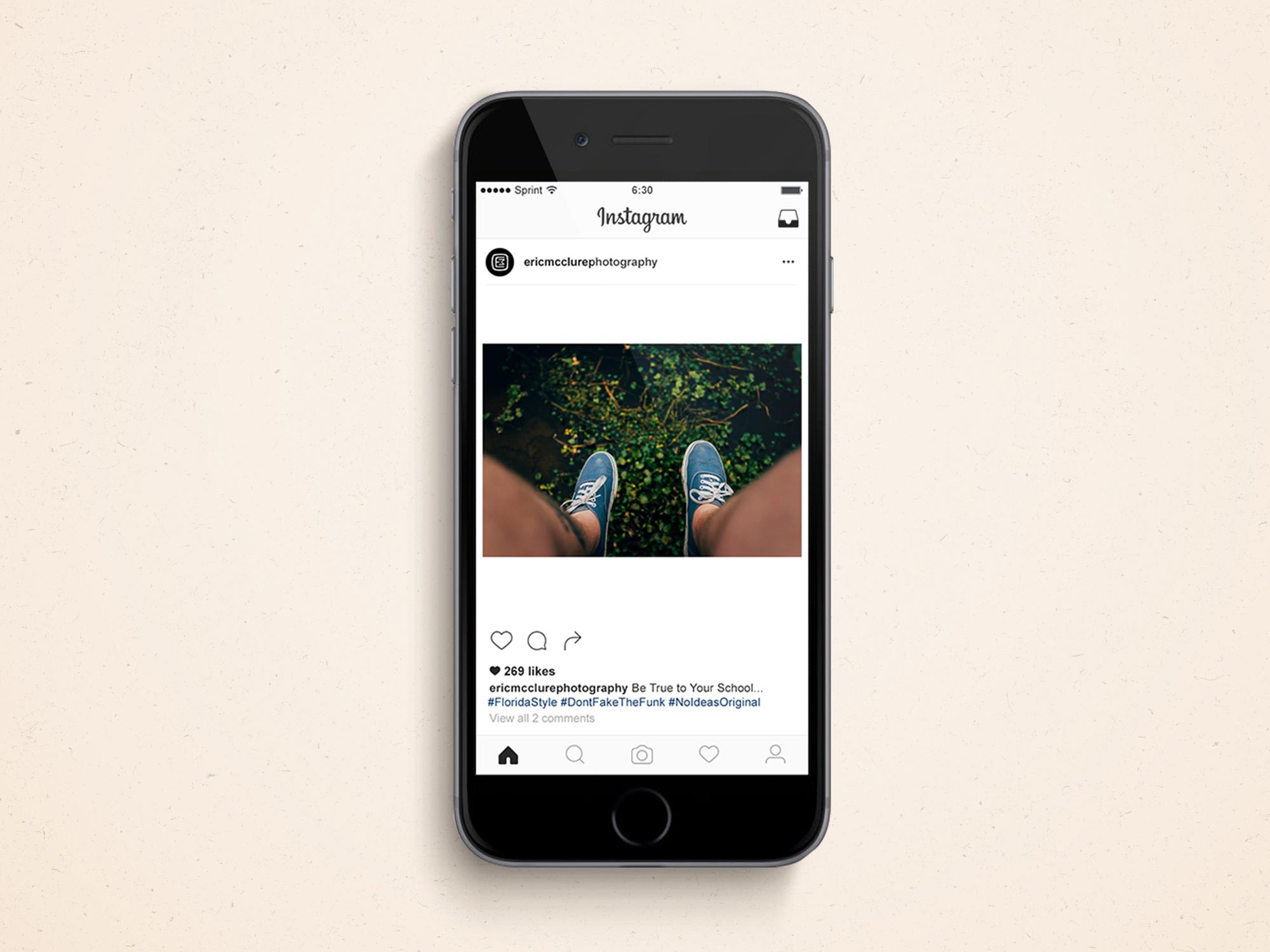 Eric Instagram iPhone