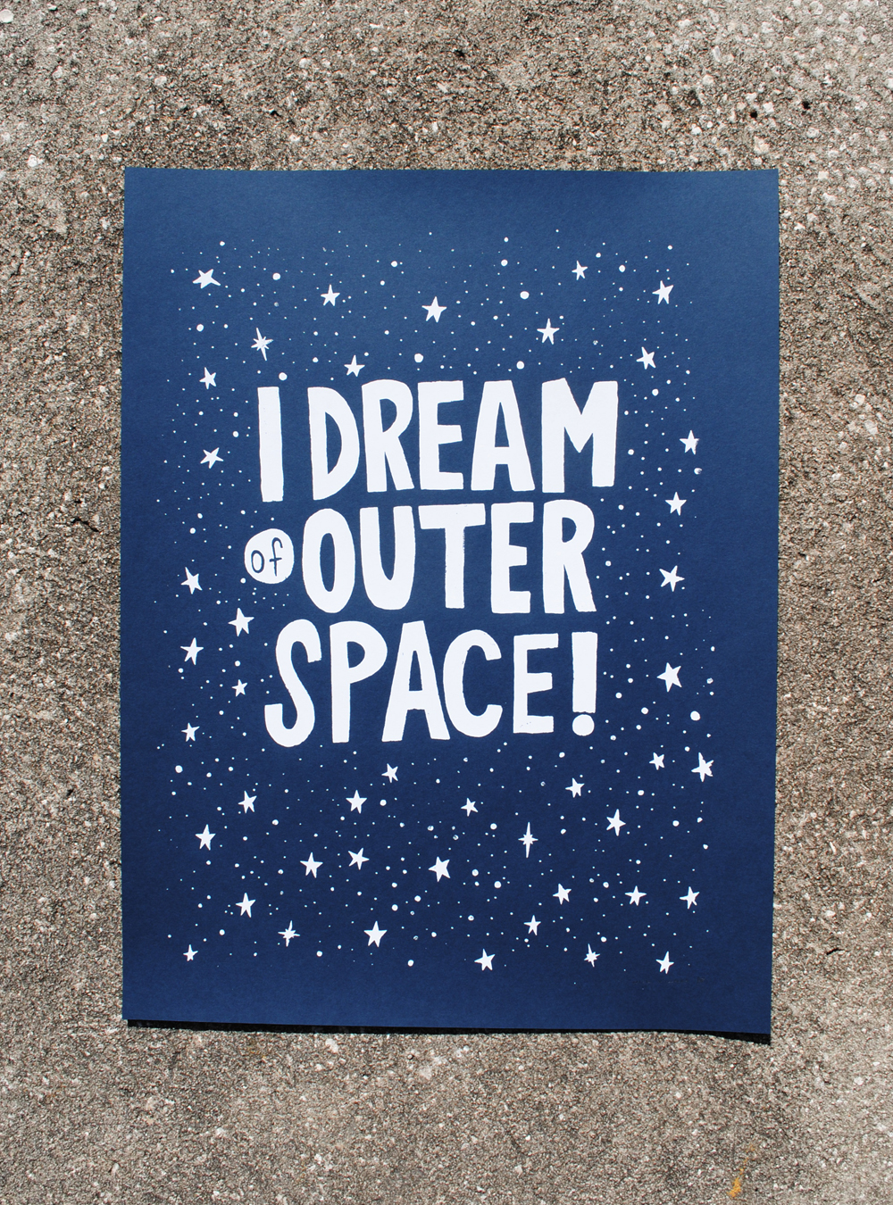I Dream of Outer Space (part deux)
