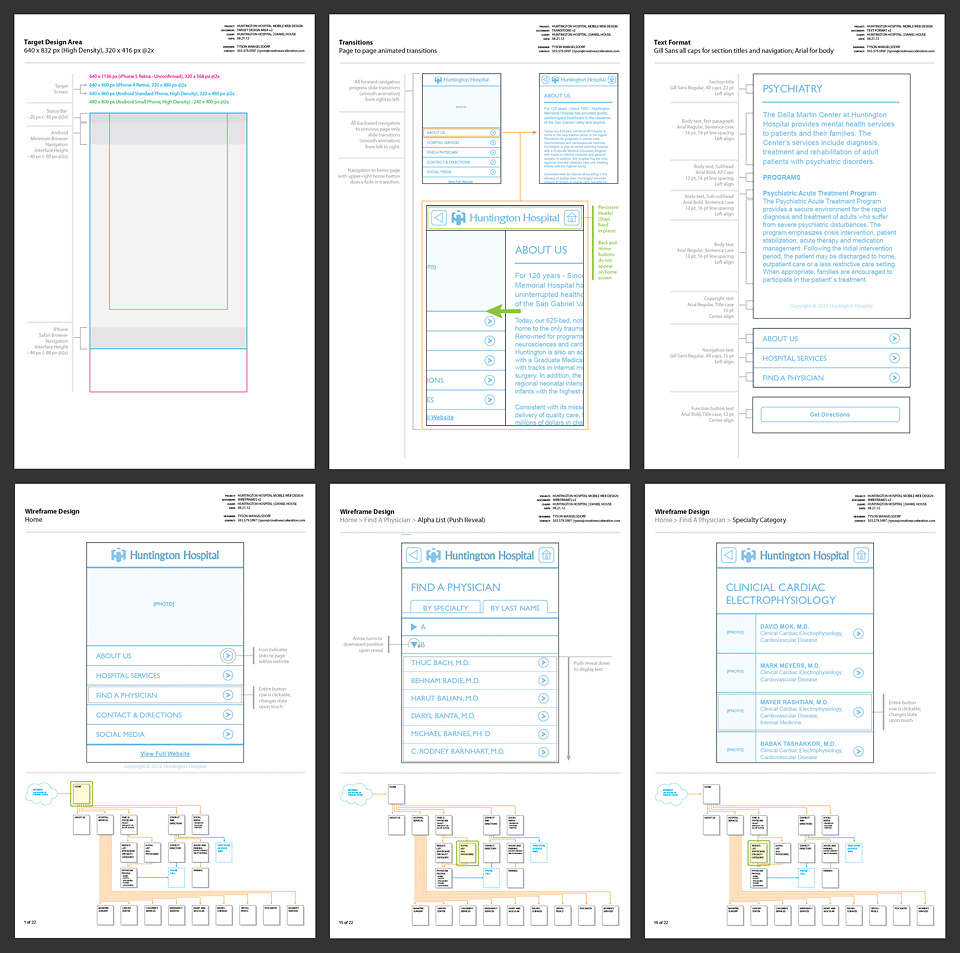 UX Requirements, Wireframes, and Workflow Documentation