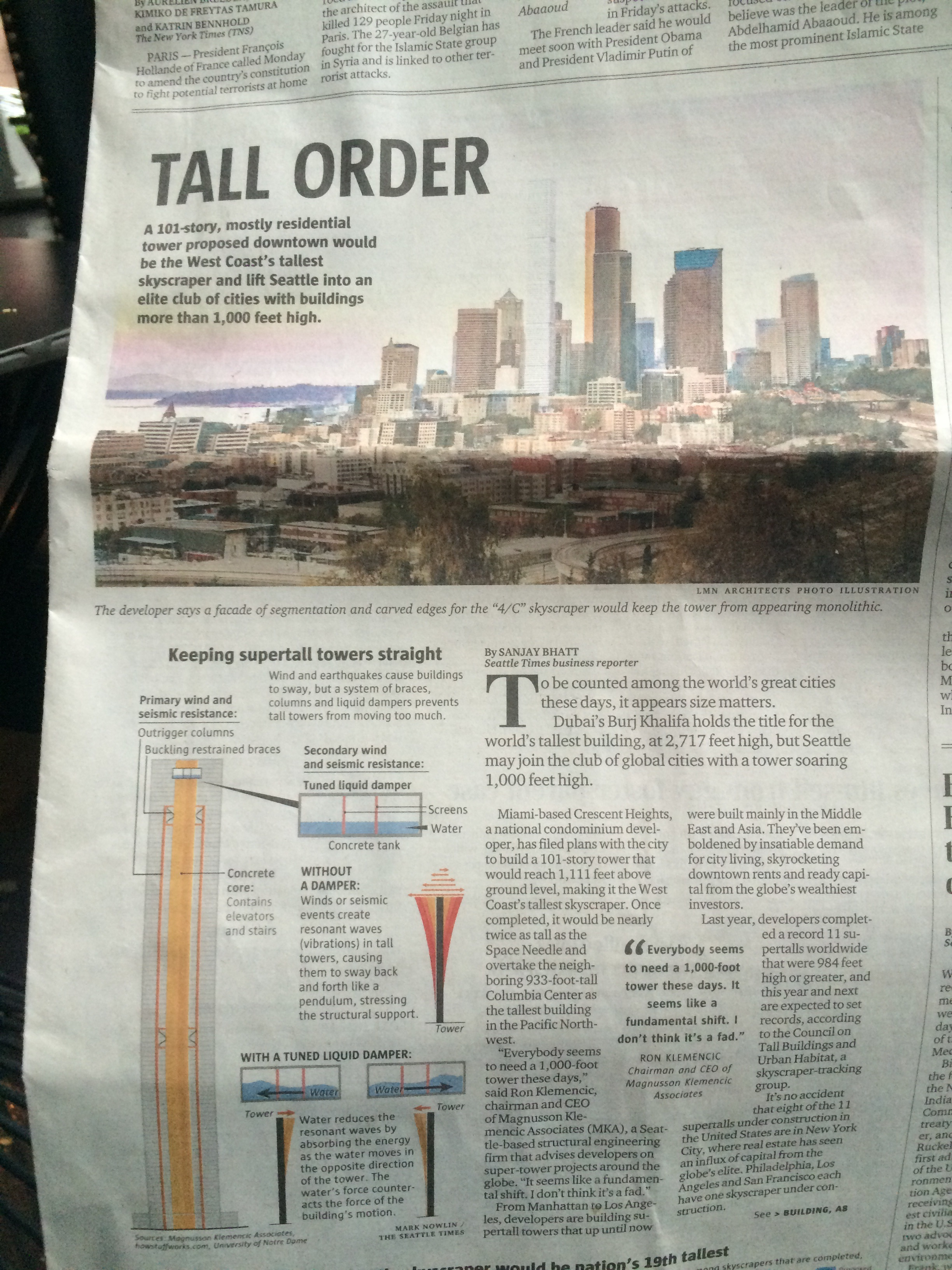 New story in the Seattle Times