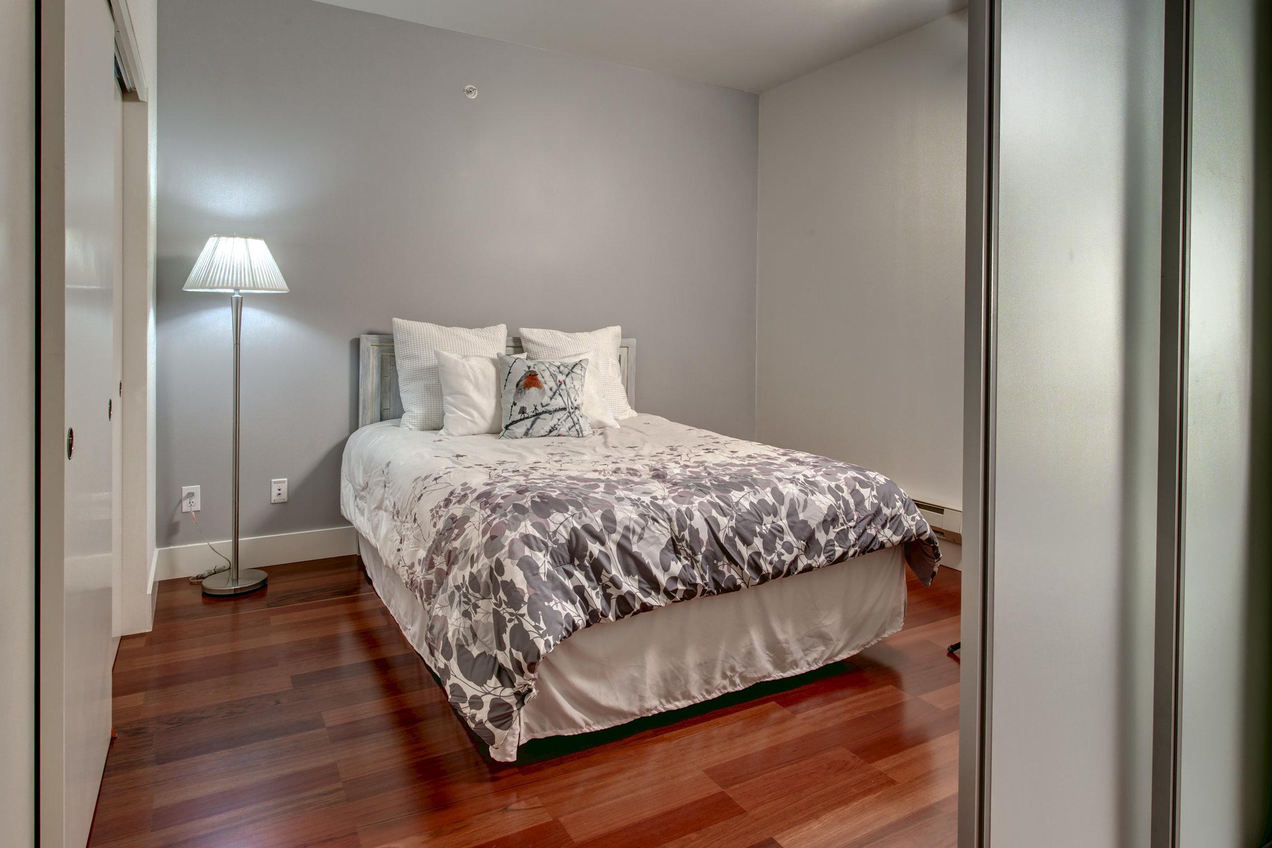 What a spacious bedroom. Sweet dreams.