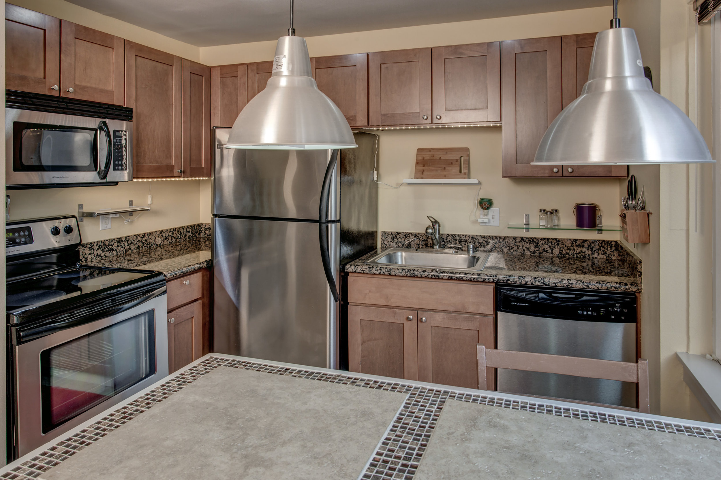 Mmmmm, Stainless Steel Appliances