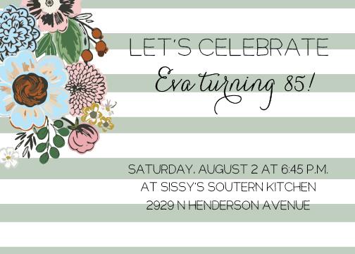 invite custom birthday