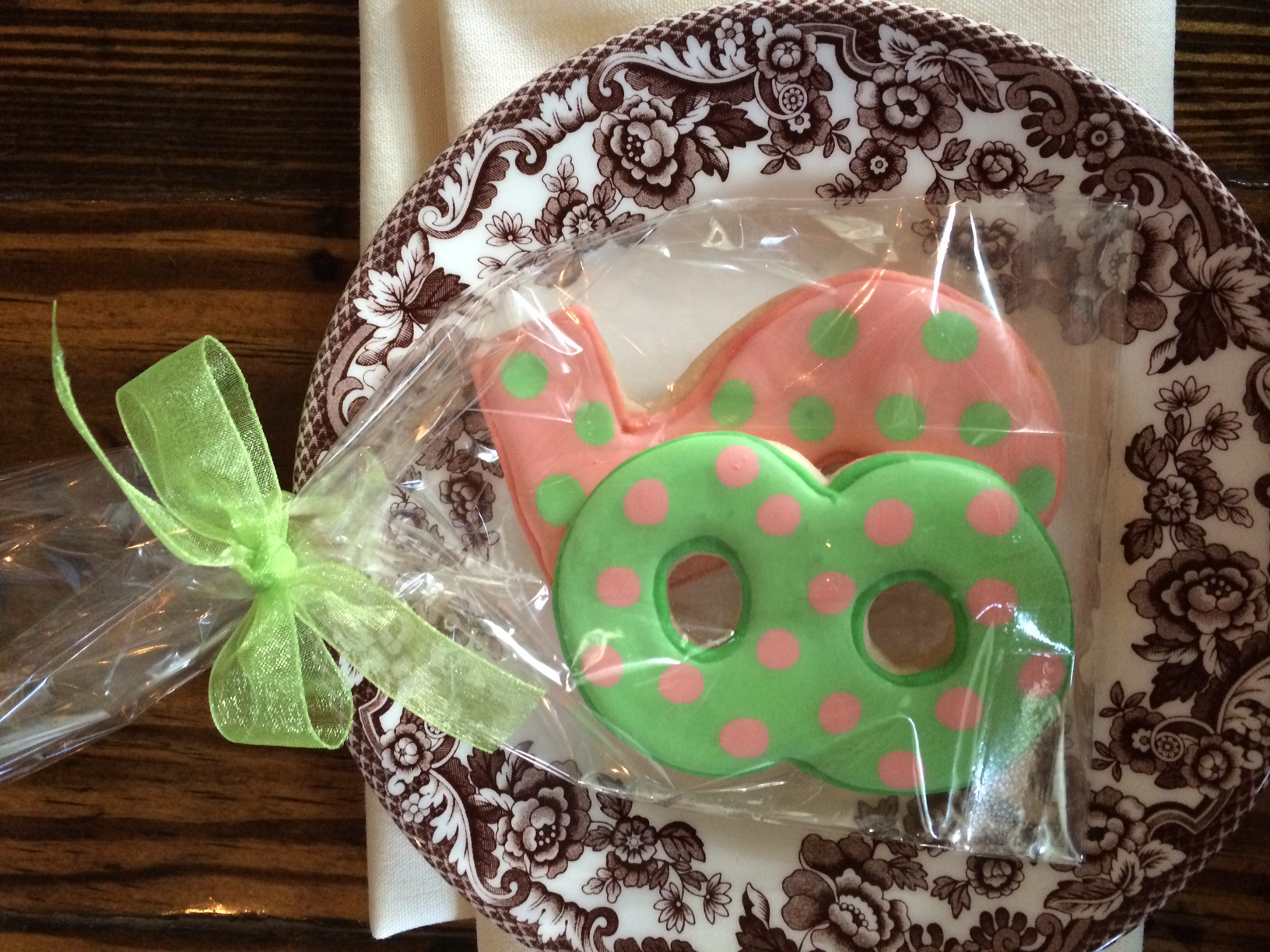cookies custom birthday favor