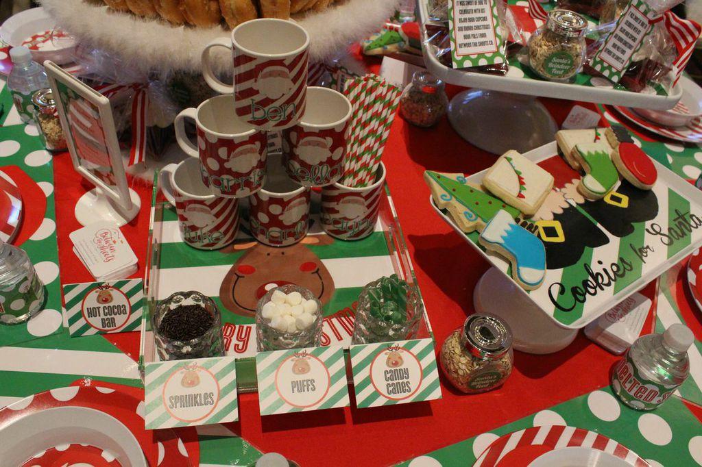 hot chocolate bar custom mugs