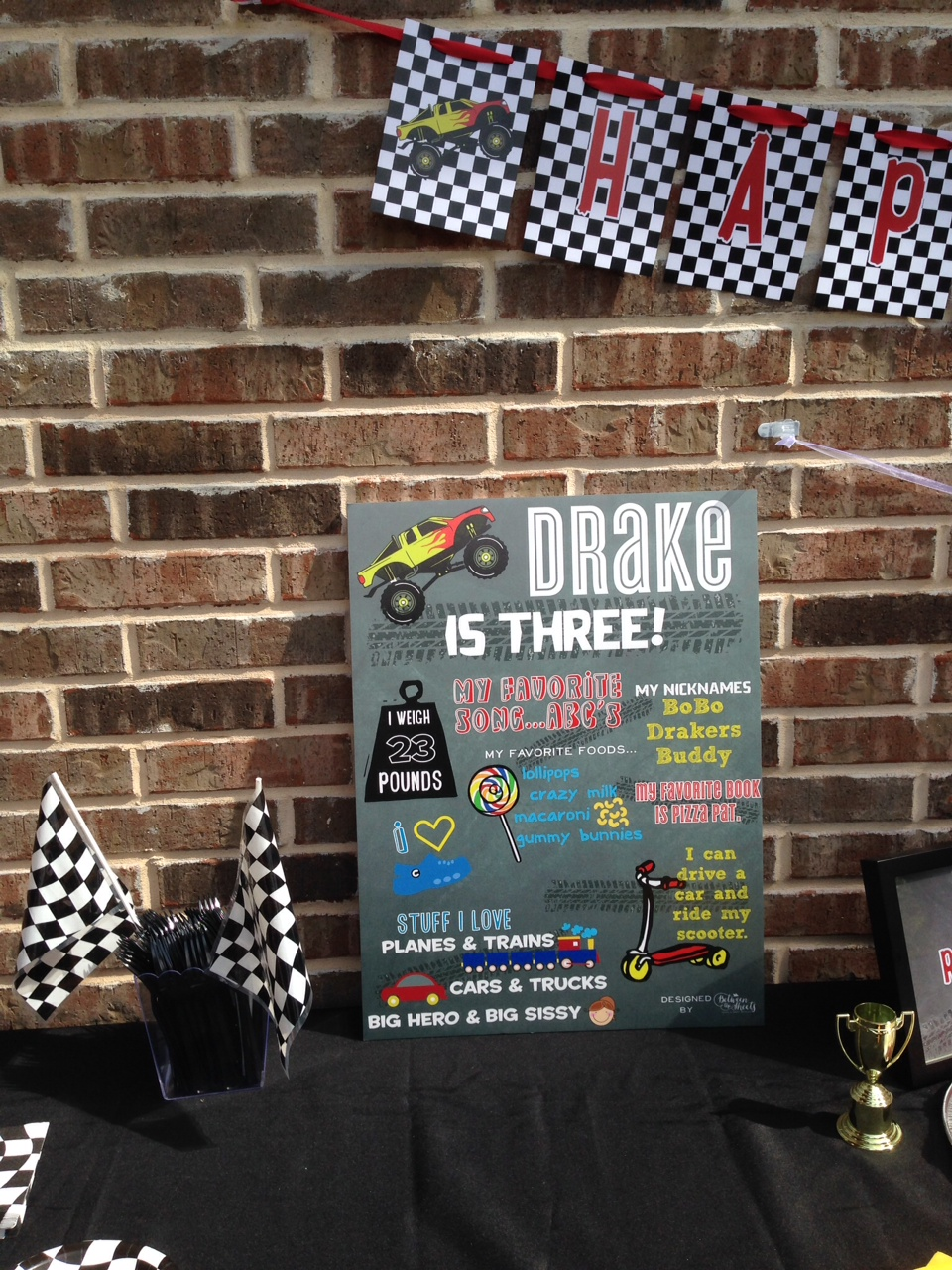 milestone-poster-monster-truck-custom-decor-dallas-party
