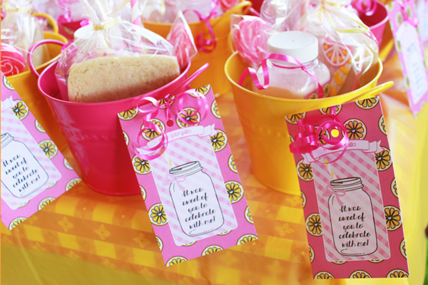 favor tag custom party gift
