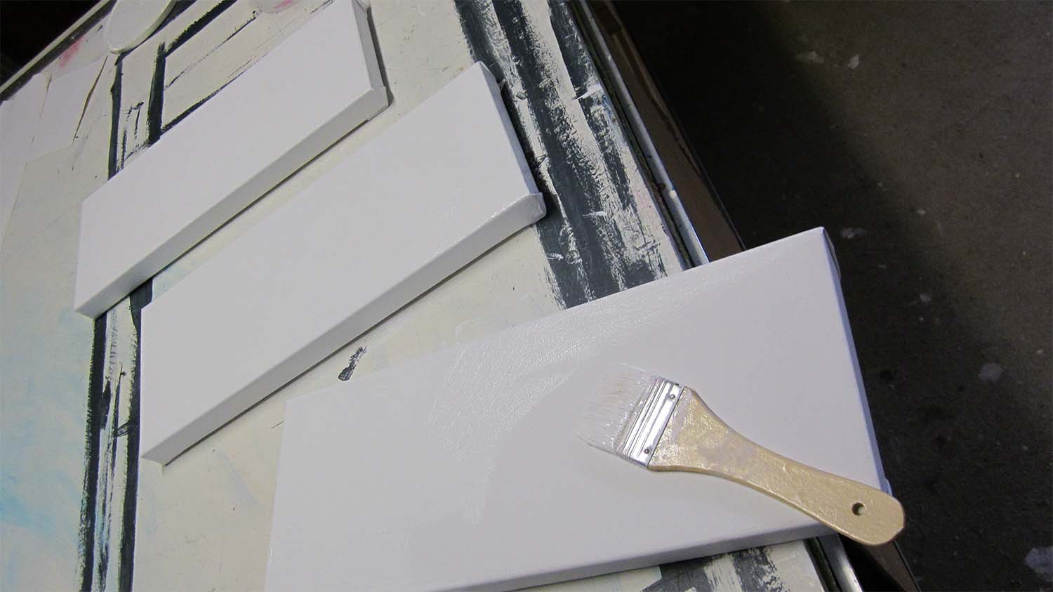 Go Gesso ....two down ..one to go ...!