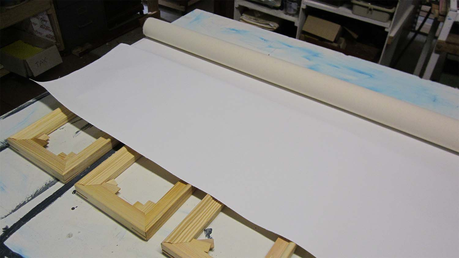 Roll of Canvas