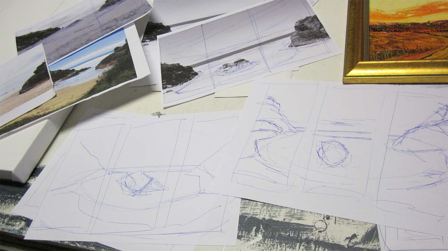 Source Photos and Sketches