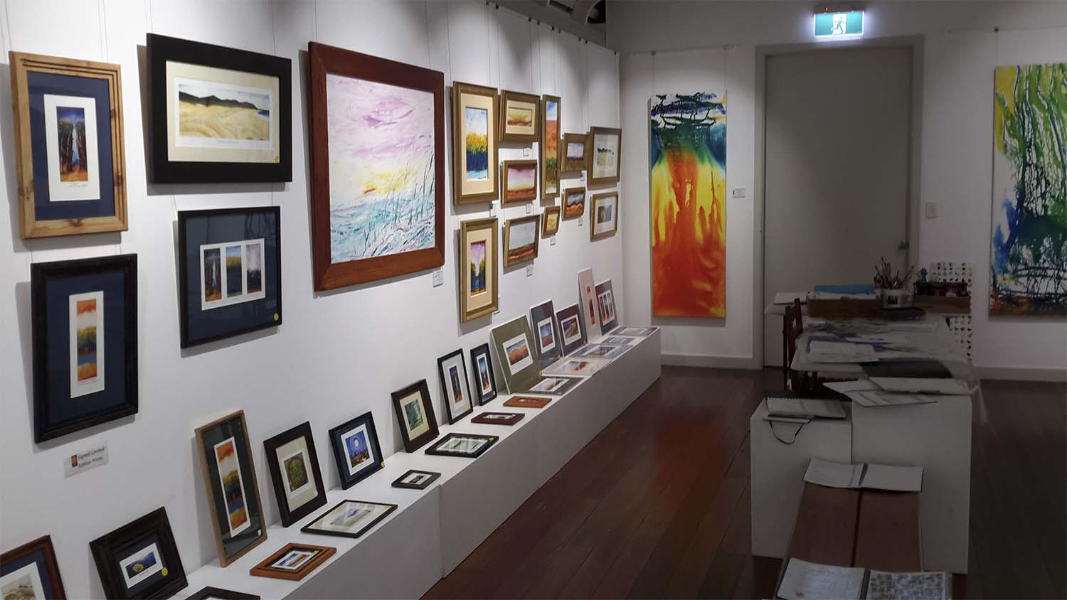Prints, small paintings and Demonstration area, 2nd Room