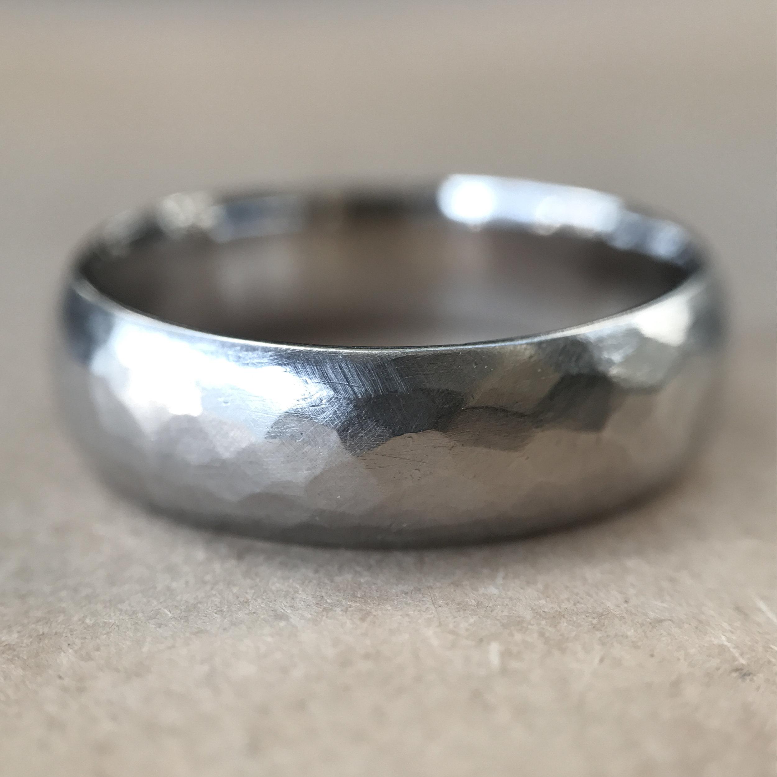 hammered half-round men's ring.jpg