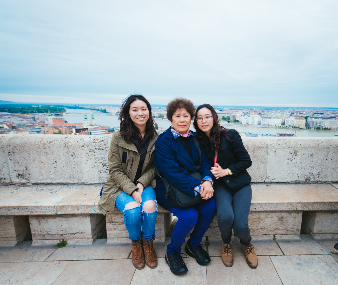 Family Photo in Budapest