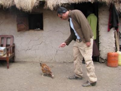 "Directing ""talent"" in Kenya"