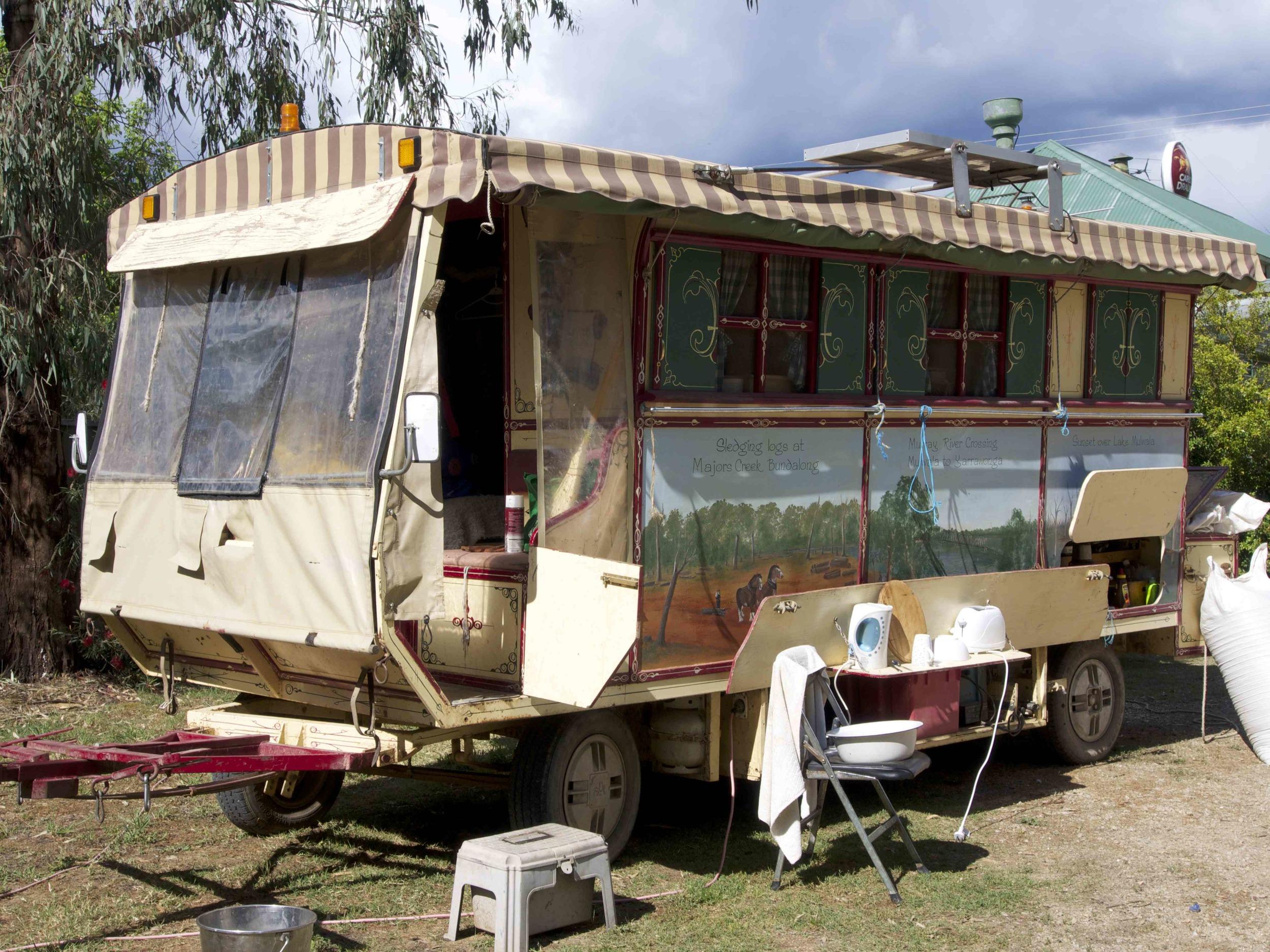 Sparra's gypsy wagon