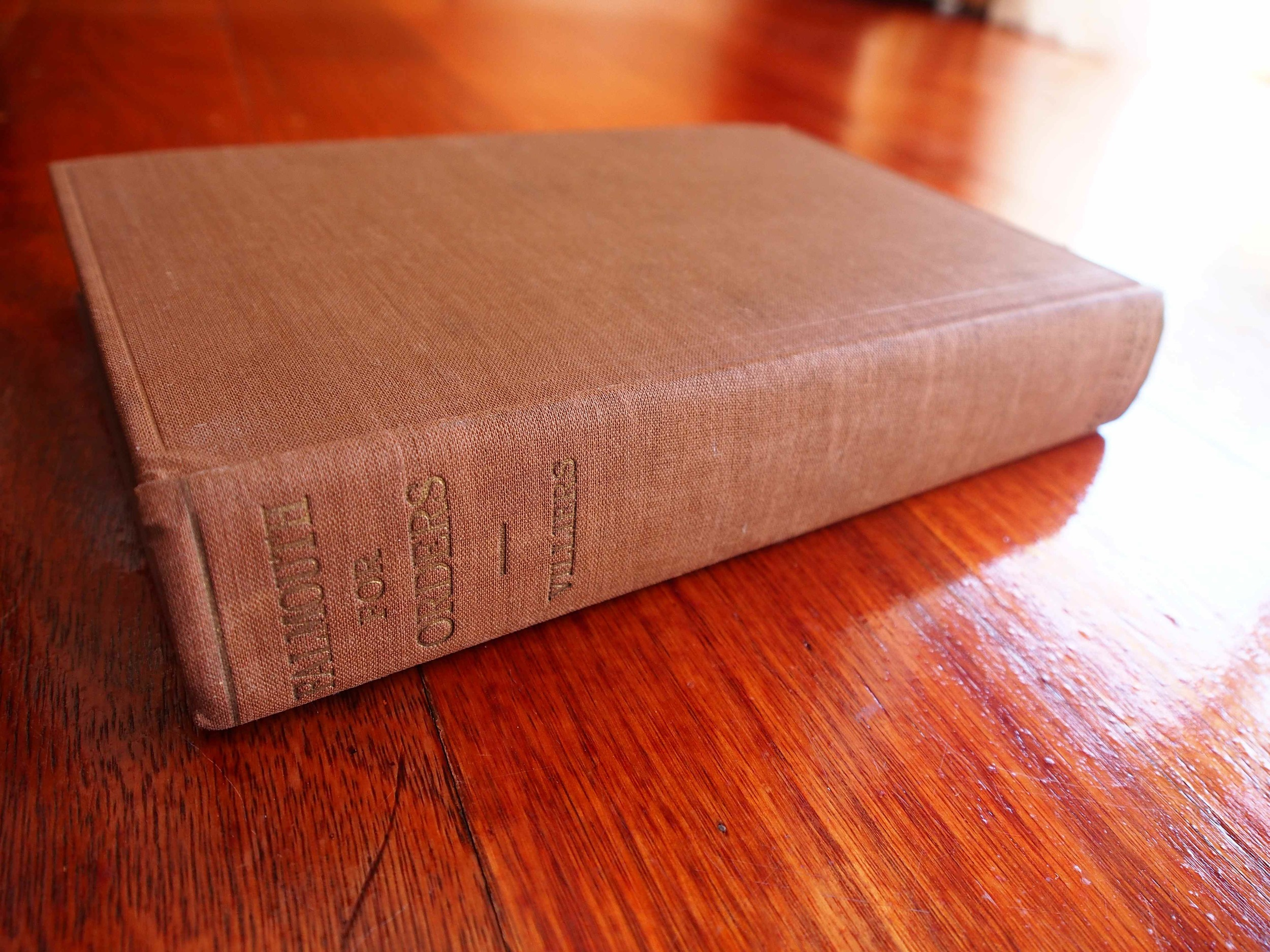 This book is out of copyright so I thought I would show you how beautiful an eighty-four-year-old book looks!