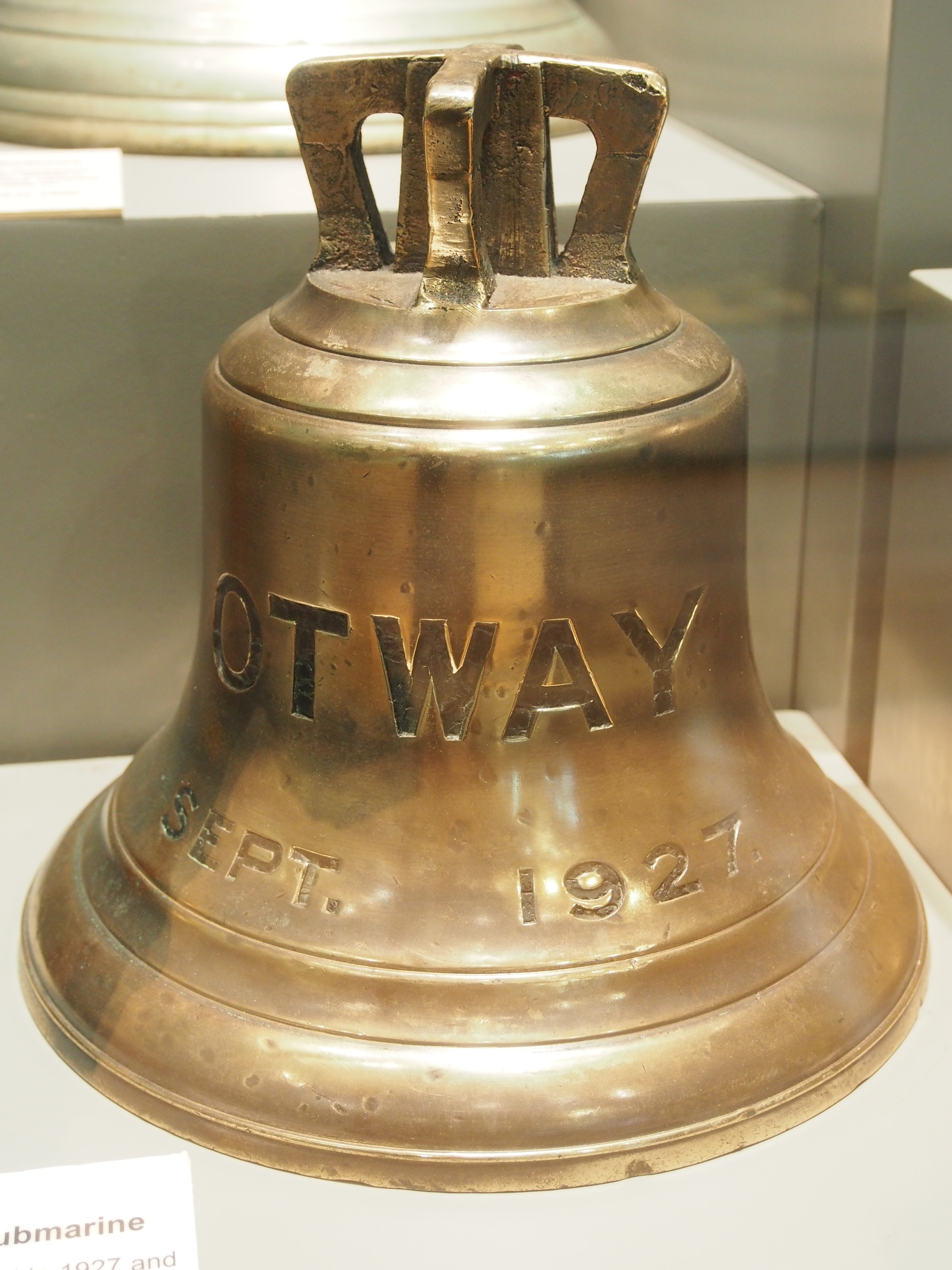 Bell from the HMAS  Otway