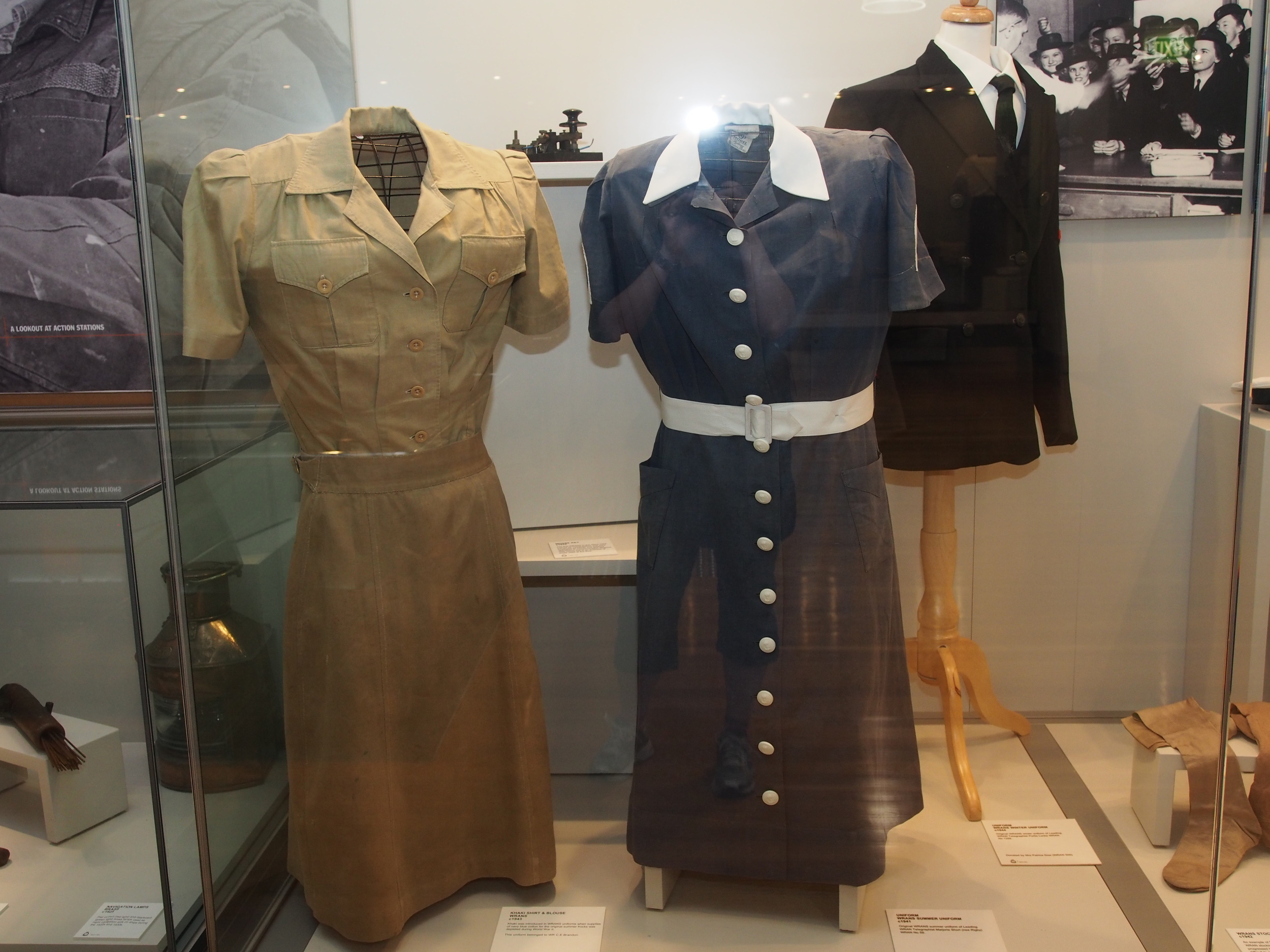 WWII WRANS clothing