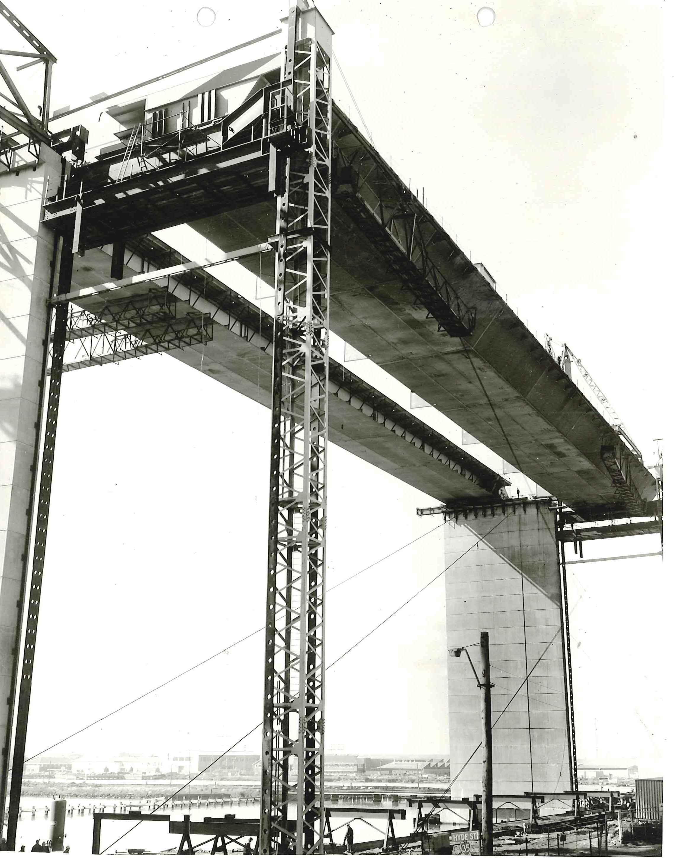 West Gate Bridge prior to collapse