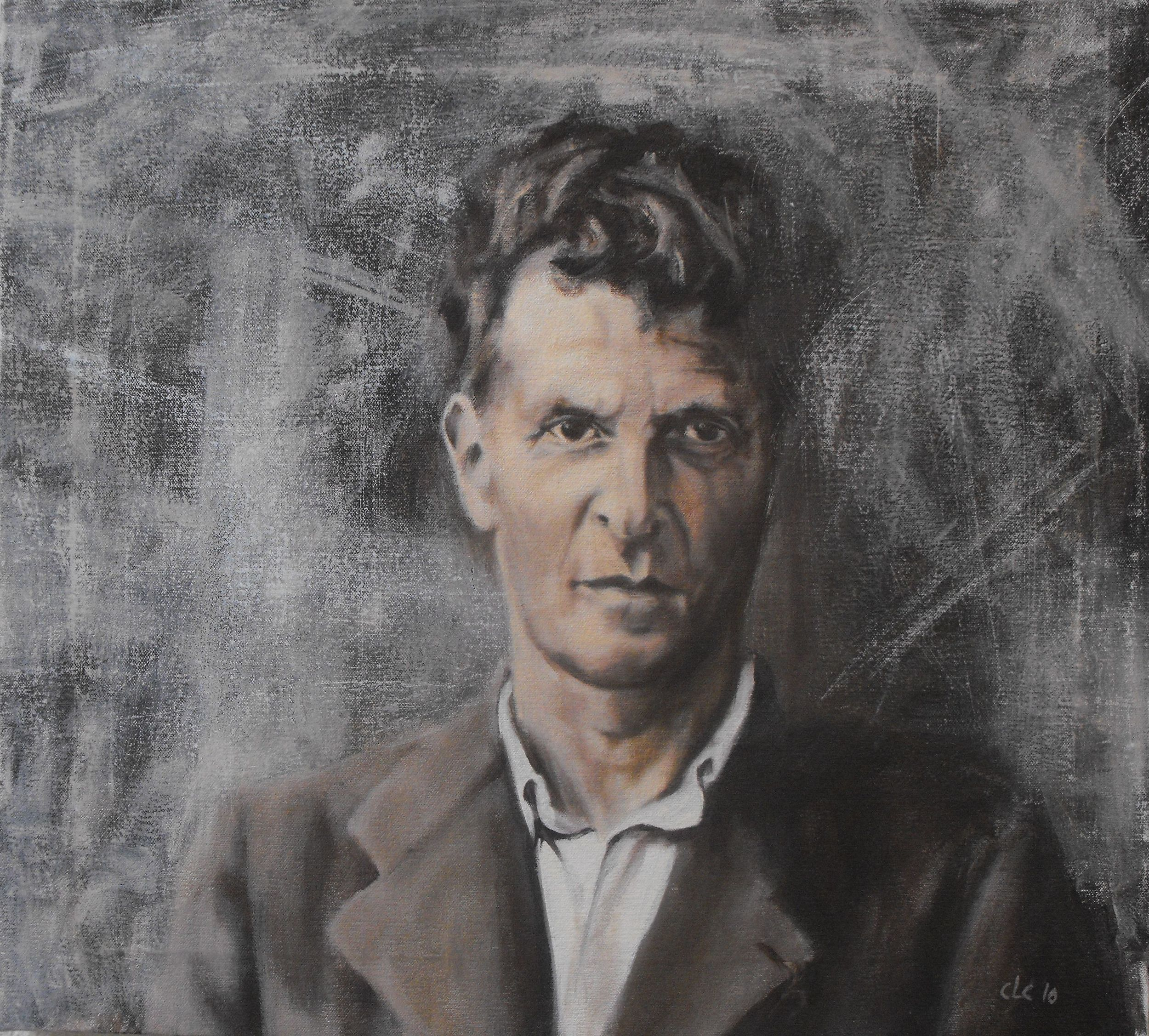 """Wittgenstein"", Oil on canvas, 2009"