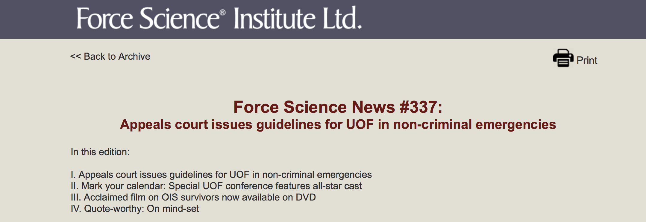 Acclaimed Film on OIS Survivors Now Available on DVD   Force Science