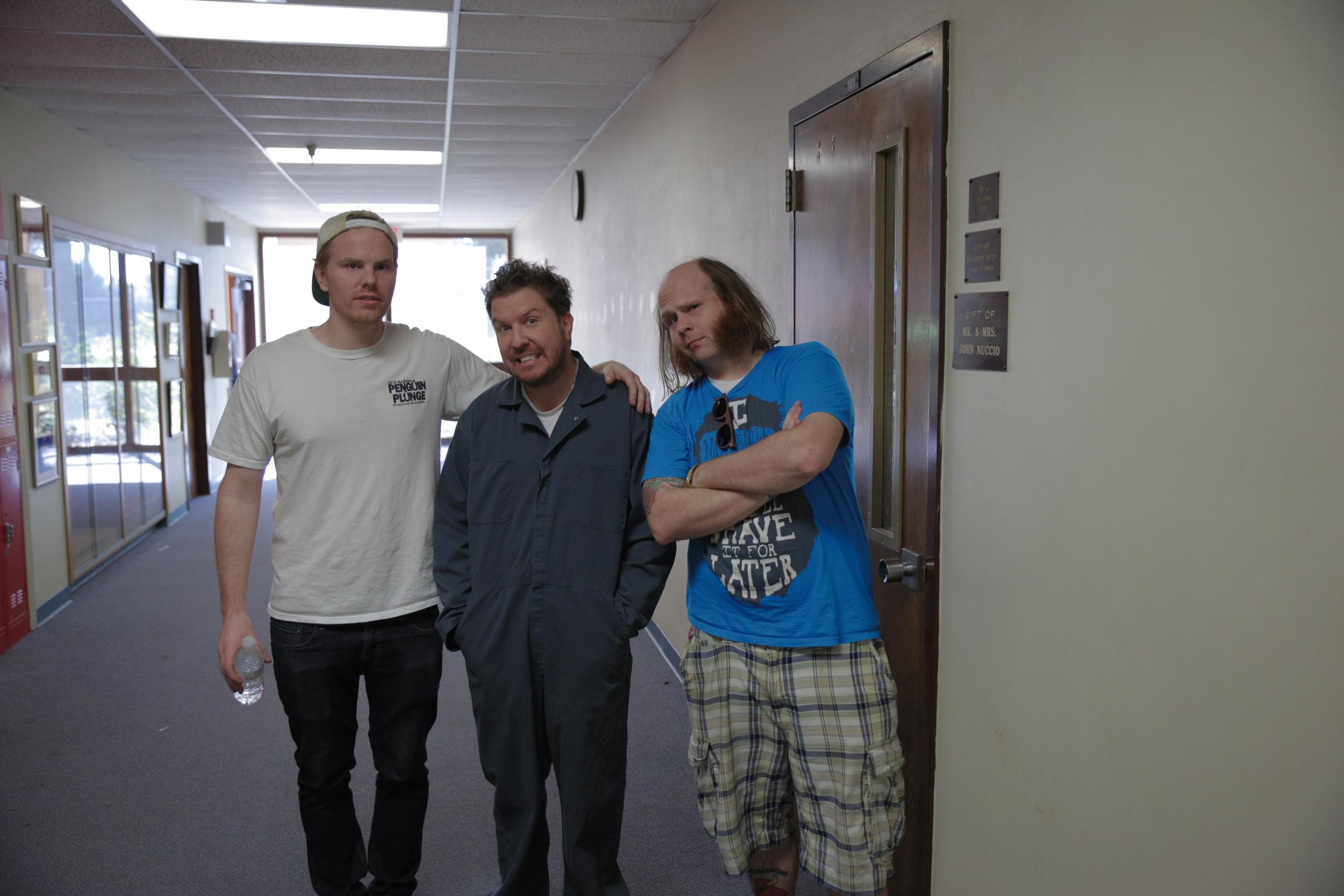 Myself, Nick Swardson and Mark Floyd