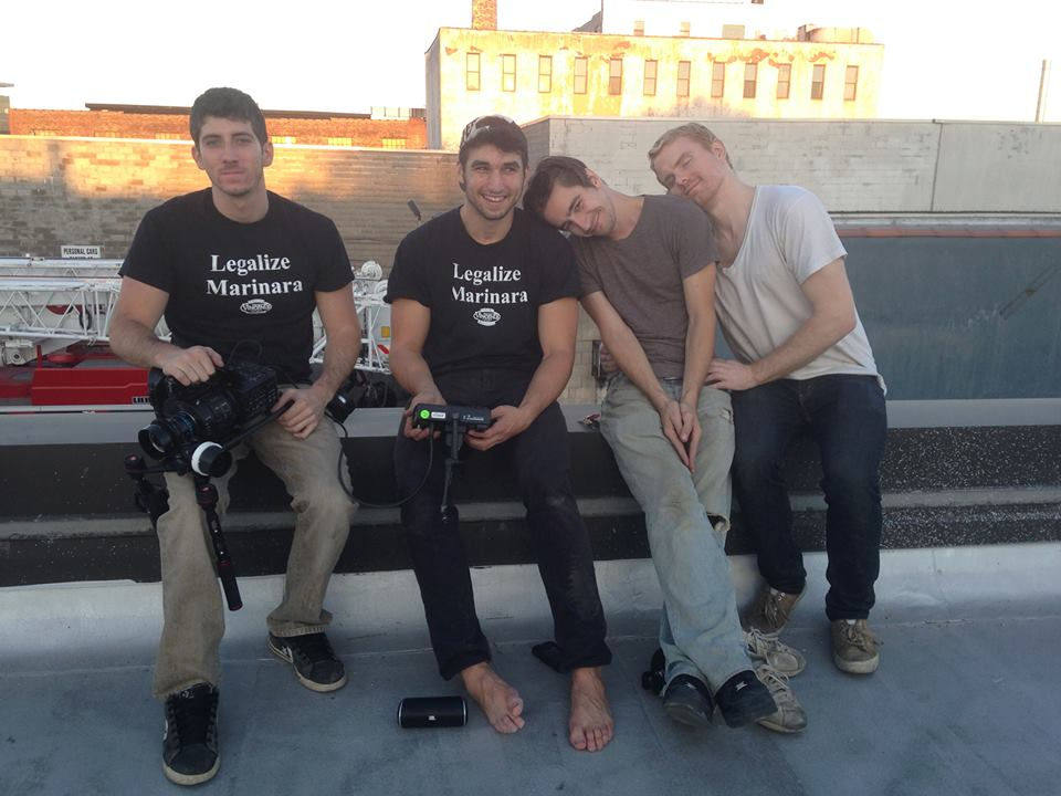 (From left to right: Ronnee Swenton, James Camali,Kevin Tewksbury,Joshua Barclay)