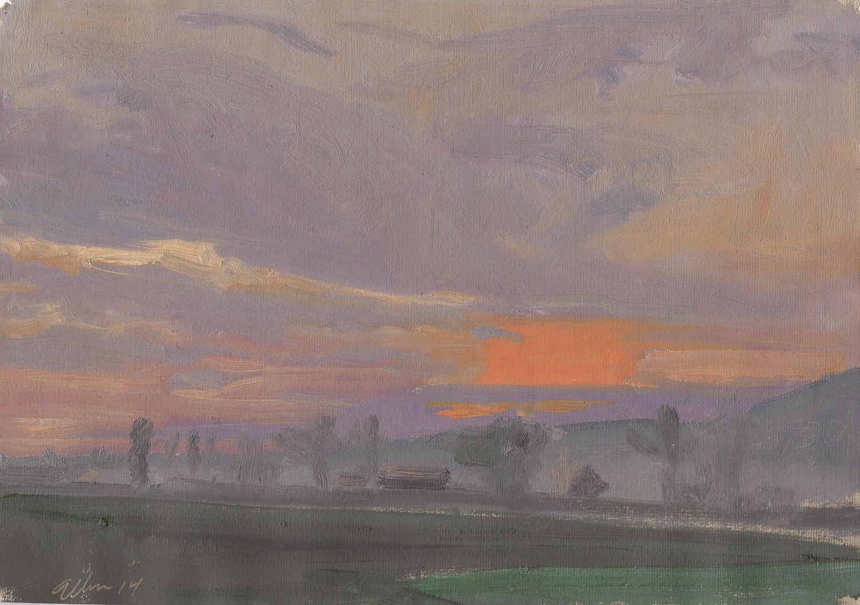 Millbach Sunrise May 19 2014, 2014