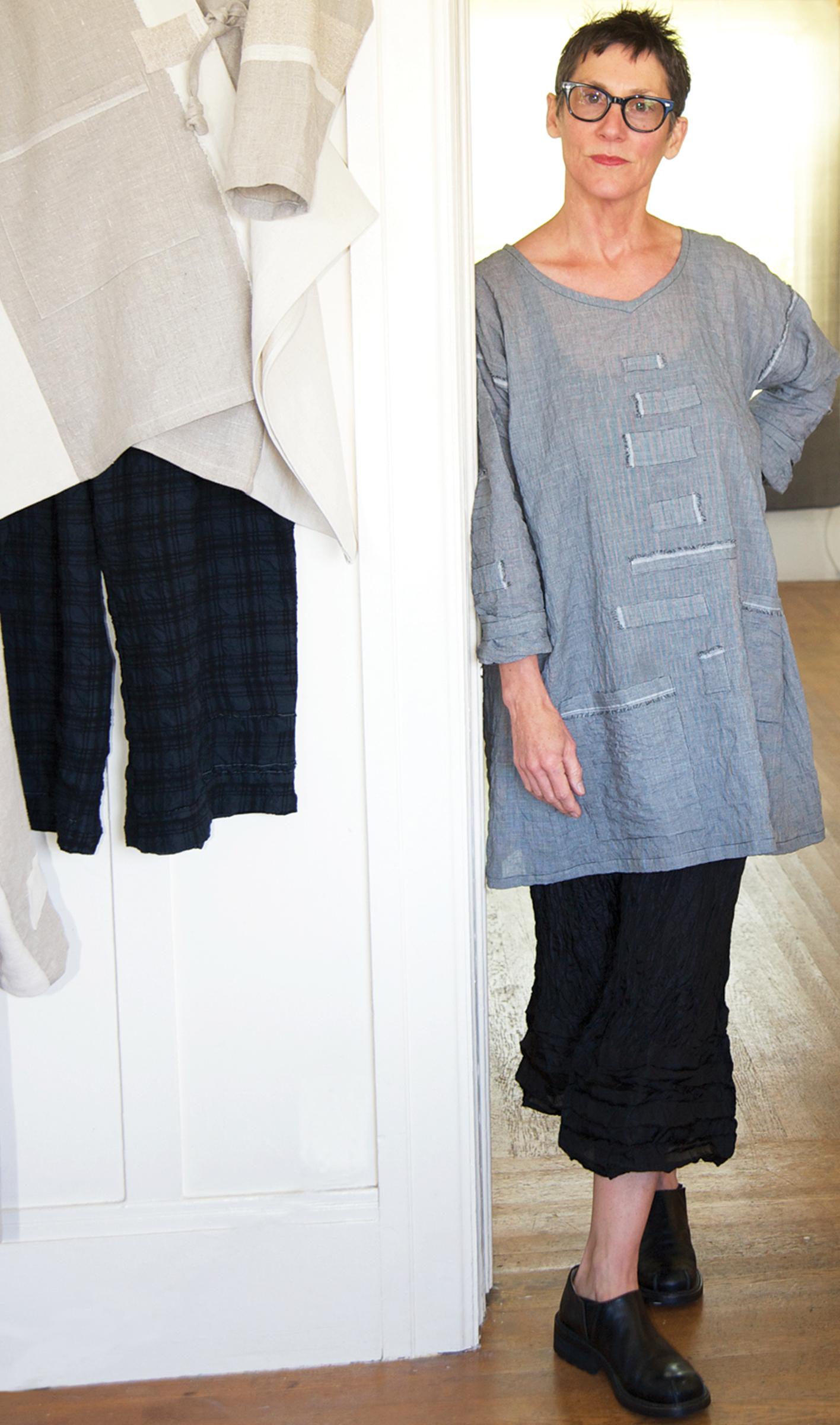 Carol in her Berkeley CA studio   ©opalenik 2012