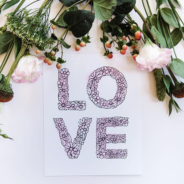 Happy #goodtypetuesday ! . . . . #valentine#valentinesday#floral#flower#flowers#print#printandpattern#papergoods#party#thatsdarling#thehappynow#diy#pinterest#creative#art#wedding#bridal#theknot#love#weddinginvitations#invitations#abeautifulmess#theknot#lettering#strengthinletters#goodtype#goodtypetuesday#handlettering#type#typography