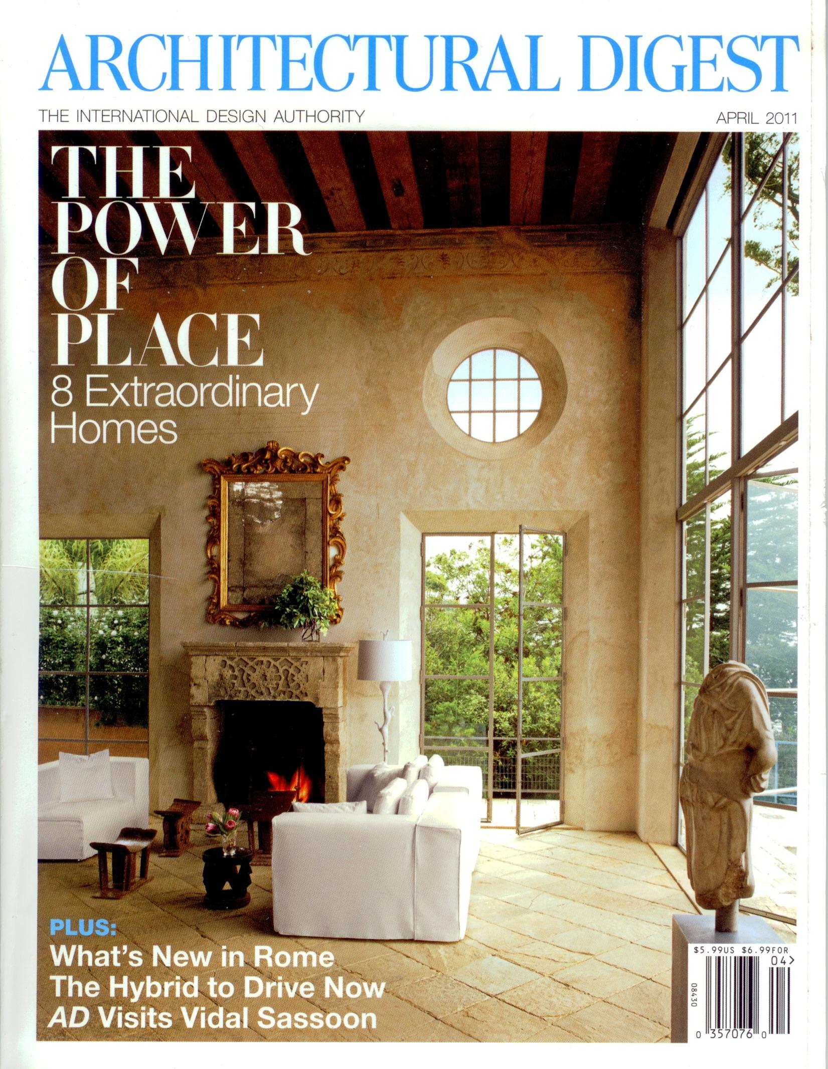 Architectural Digest - April 2011