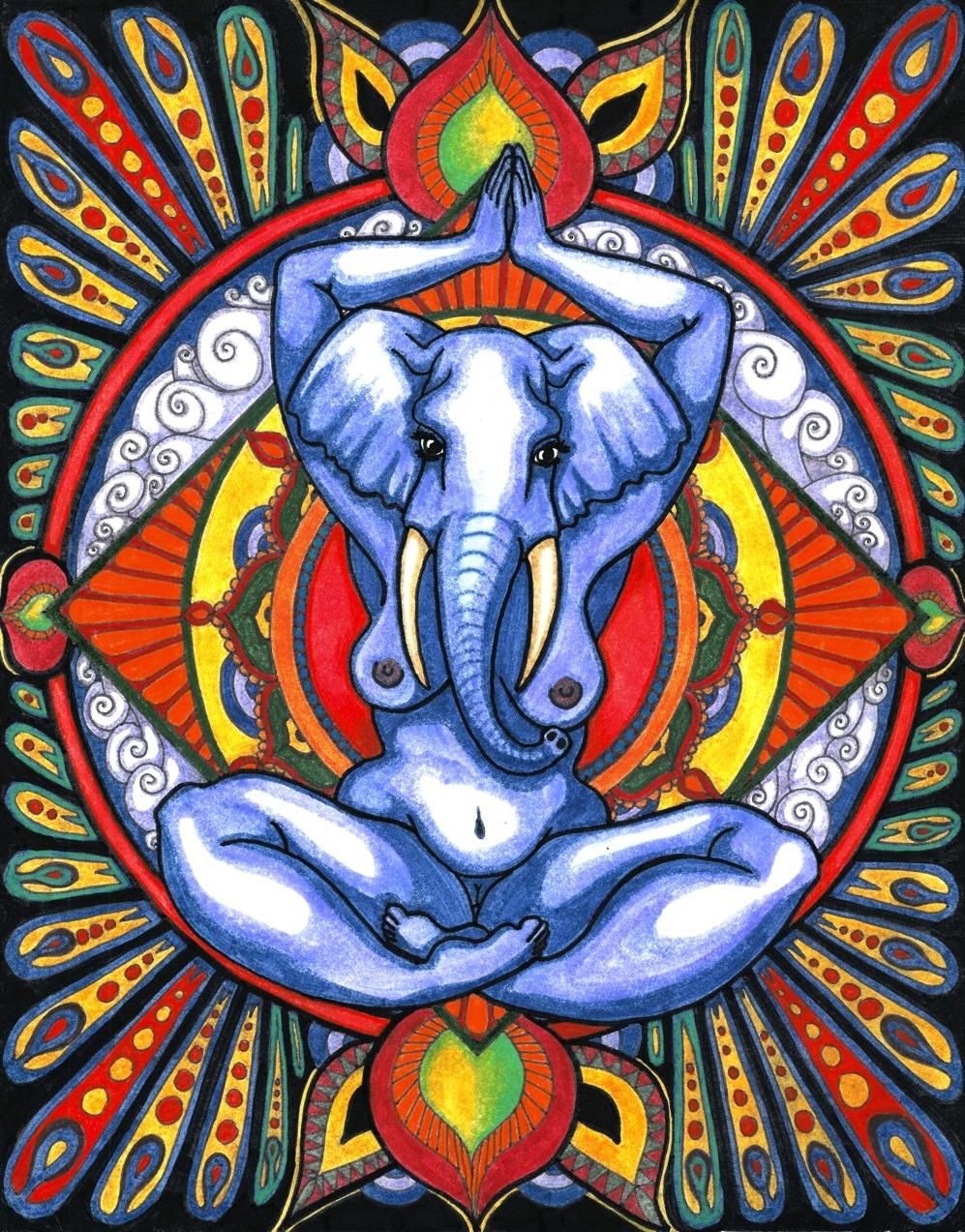 Ganesha as Goddess