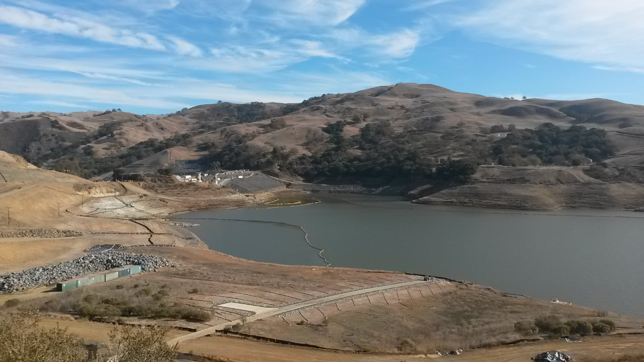 Replacement of the original Calaveras Dam including a new 210-foot high earth and rock fill dam designed to accommodate a maximum credible earthquake on the Calaveras Fault.  The replacement dam will restore the original reservoir capacity, and it will be designed so the water level can be raised to accommodate potential future increases in storage.