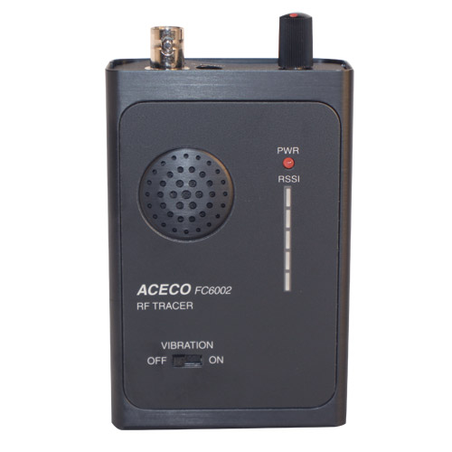 BUG DETECTOR WITH STRENGTH METER - High quality hand held bug detector great for detecting wireless audio/ video products. Built-in signal strength meter and sensitivity control. Full detection range from 1 MHz to 3 GHz