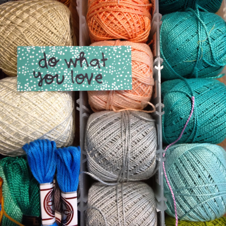 Do What you Love - Sarah Watson Illustration
