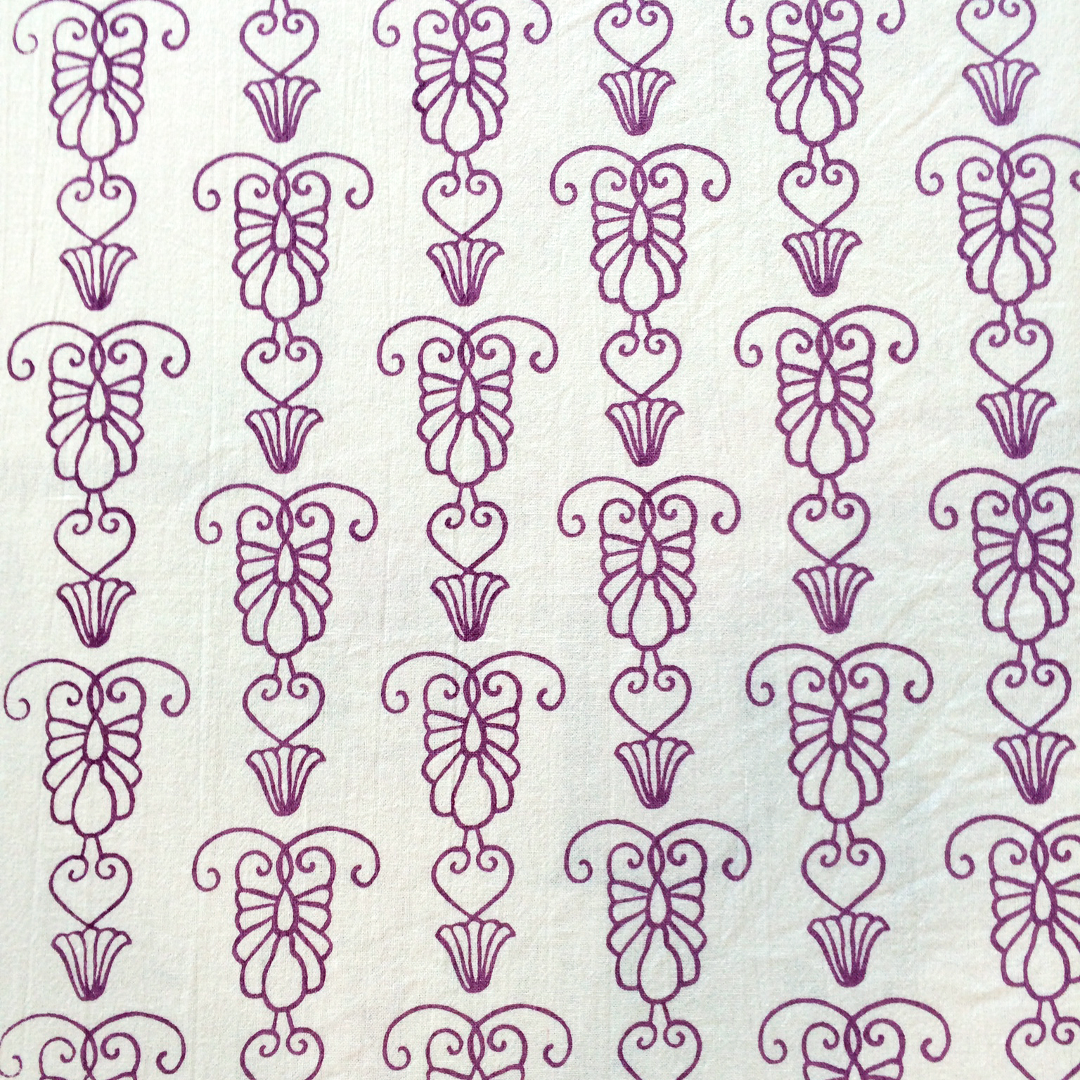 Iron Gate Screen Print by For the Love of Pattern #loveofpattern www.loveofpattern.com - Savannah Ironwork Collection