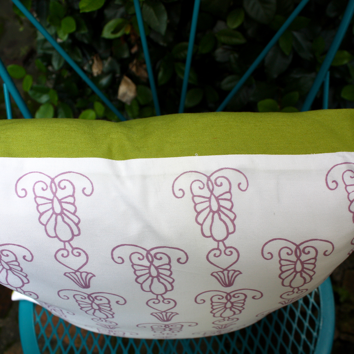Iron gate Pillow by For the Love of Pattern #loveofpattern