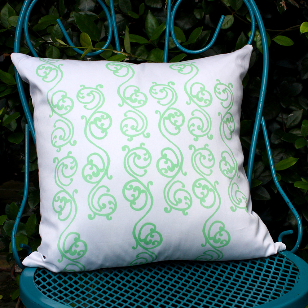 Savannah Scroll Pillow by For the Love of Pattern #loveofpattern www.loveofpattern.com