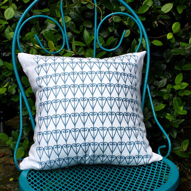 Handmade For the Love of Pattern Pillow www.loveofpattern.com