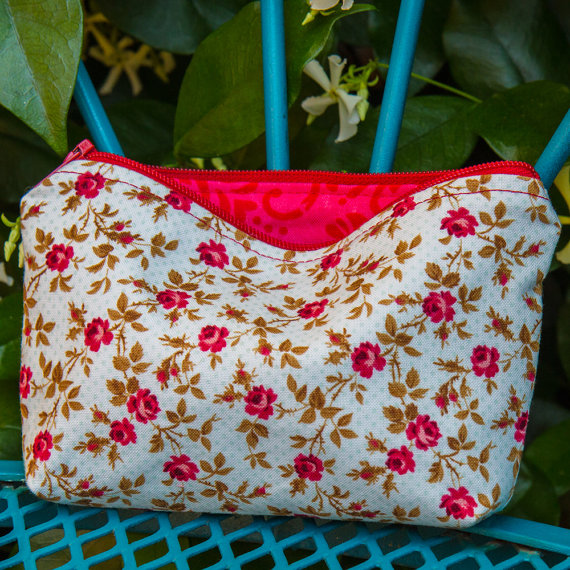 Handmade For the Love of Pattern Coin Purse www.loveofpattern.com