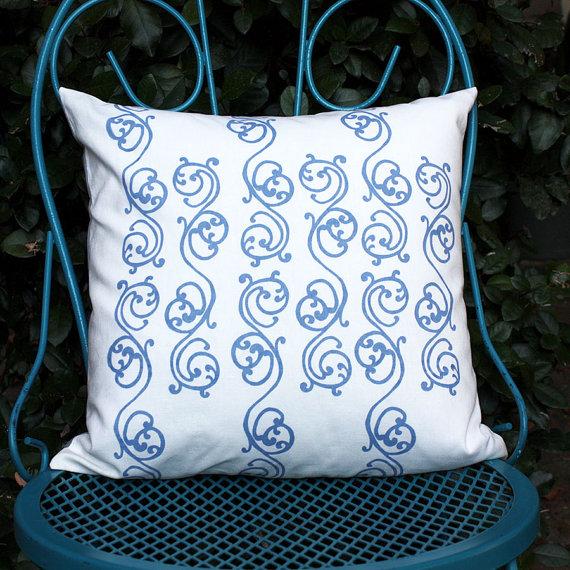 For the Love of Pattern Handmade Screenprint Pillow