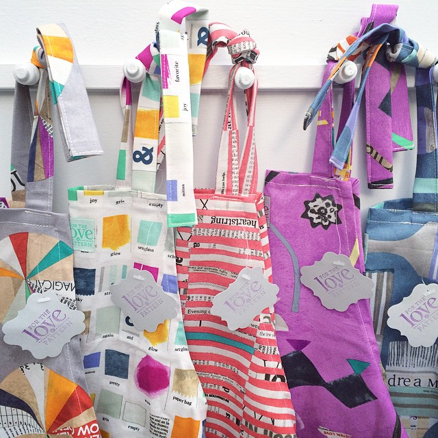 For the Love of Pattern Children's Aprons