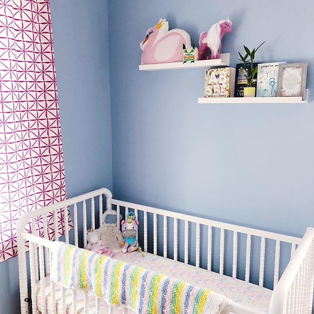 I've been very quiet on social media for a while while snuggling both of my babies (well one is not really a baby anymore but will always be my first baby girl so you know what I mean). I wanted to share a glimpse of baby girl #2's nursery. I still have to hang her mobile but I figure better late than never. 🤣 It's crazy how time seems to slow down and then fly by throughout this amazing baby phase. I am so grateful to have two happy healthy girls and my heart becomes more full each day. ❤️