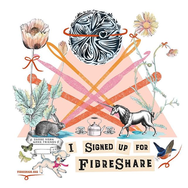 Yay it's #FibreShare time! This will be my third time participating. I missed the last sign up because well you know... 👶👶 BUT I'm getting back into my groove and am ready to participate again. #fibresharepride #yay